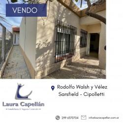 EN VENTA - PROPIEDAD CON SALIDA A 2 CALLES